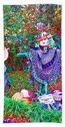 High Satch Scarecrow In A Hat Beach Towel