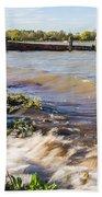 High Tide Beach Towel by Dawn OConnor