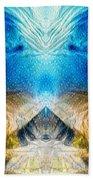 Higher Love Art By Sharon Cummings Beach Towel