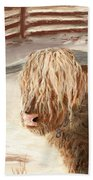 Highland Bull Beach Towel