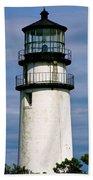 Highland Light Sentinel To The Sea   Beach Towel