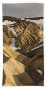 Highlands Fjallabak Nature Reserve Beach Towel