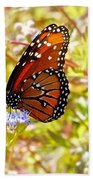 Hill Country Butterfly Beach Towel
