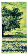 Hill Country Scenic Hdr Beach Towel