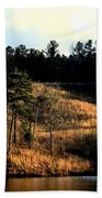 Hill Of Gold Beach Towel