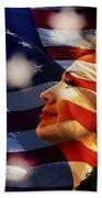 Hillary 2016 Beach Towel by Marvin Blaine