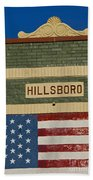 Hillsboro Village Nashville Beach Towel