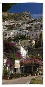 Hillside Positano Beach Towel