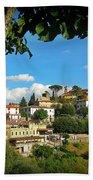 Hillside Tuscan Village  Beach Towel