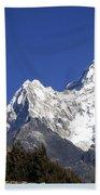 Himalayas Beach Towel