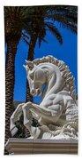 Hippocampus At Caesars Palace Beach Towel