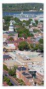 Historic Annapolis Maryland Beach Towel