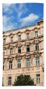 Historic Apartment House In Budapest Beach Towel