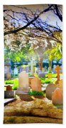 Historic Cemetery  Beach Towel