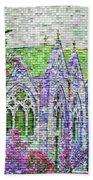 Historic Churches St Louis Mo - Digital Effect 4 Beach Towel