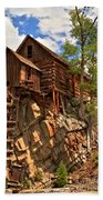 Historic Crystal Mill Beach Towel by Adam Jewell