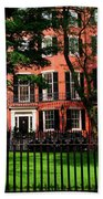 Historic Homes Of Beacon Hill, Boston Beach Towel