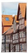 Historic Houses In Germany Beach Towel
