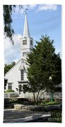 Historic Mystic Church - Connecticut Beach Towel