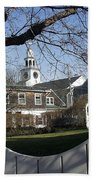 Historic Nantucket Church Beach Towel