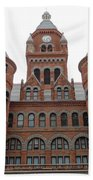 Historic Old Red Courthouse Dallas #1 Beach Towel