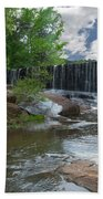Historic Yates Mill Dam - Raleigh N C Beach Towel