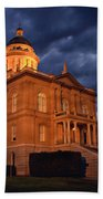 Historical Placer County Courthouse Beach Towel