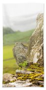 History And Nature. Wicklow. Ireland Beach Sheet