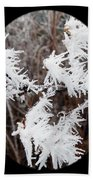 Hoarfrost 15  Beach Towel