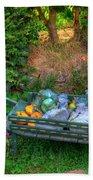 Hobbit Vegetables Beach Sheet