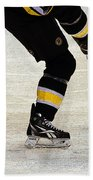 Hockey Dance Beach Towel