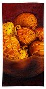Holiday Citrus Bowl  Beach Towel
