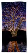 Holiday Lights Beach Towel