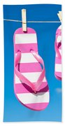 Holiday Washing Line Beach Towel