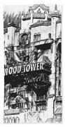 Hollywood Tower Beach Towel