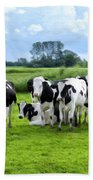Holstein Heaven Beach Towel