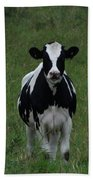 Holstein Hello Beach Towel