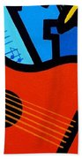 Homage To Matisse I  Beach Towel