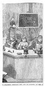 Home Economics Class, 1886 Beach Towel