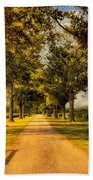 Home In Time For Supper Beach Towel by Lois Bryan