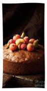 Homemade Rich Fruit Cake Beach Sheet