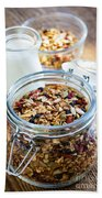 Homemade Toasted Granola Beach Towel