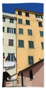 homes in Sori - Italy Beach Towel