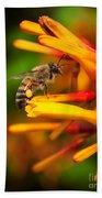 Honey Bee 4 Beach Towel