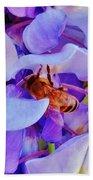 Honey Bee Cling Beach Towel