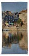 Honfleur In Normandy France Beach Towel
