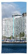 Honolulu Hi 3 Beach Towel