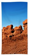 Hoodoos Row Beach Towel