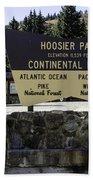 Hoosier Pass Beach Towel