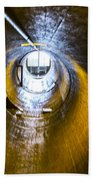 Hoover Dam Ventilation Tunnel Beach Towel